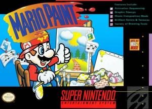 mario paint cover art